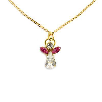 Ange de cristal octobre rose zircon 400x400