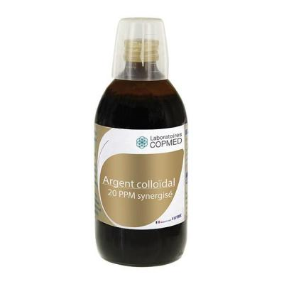 Argent colloidal 20 ppm synergise