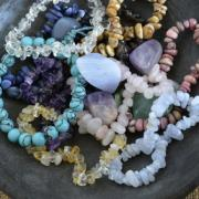 Bijoux en mineraux