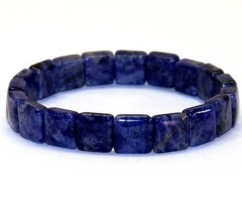 Bracelet carre sodalite